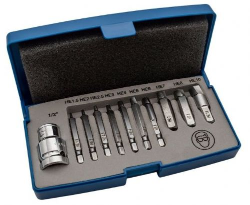 Damaged Cap Head Bolt/Screw Extractor Set